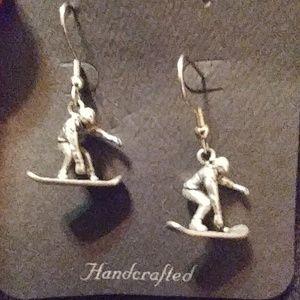 *4 for $20* Snowboarder earrings
